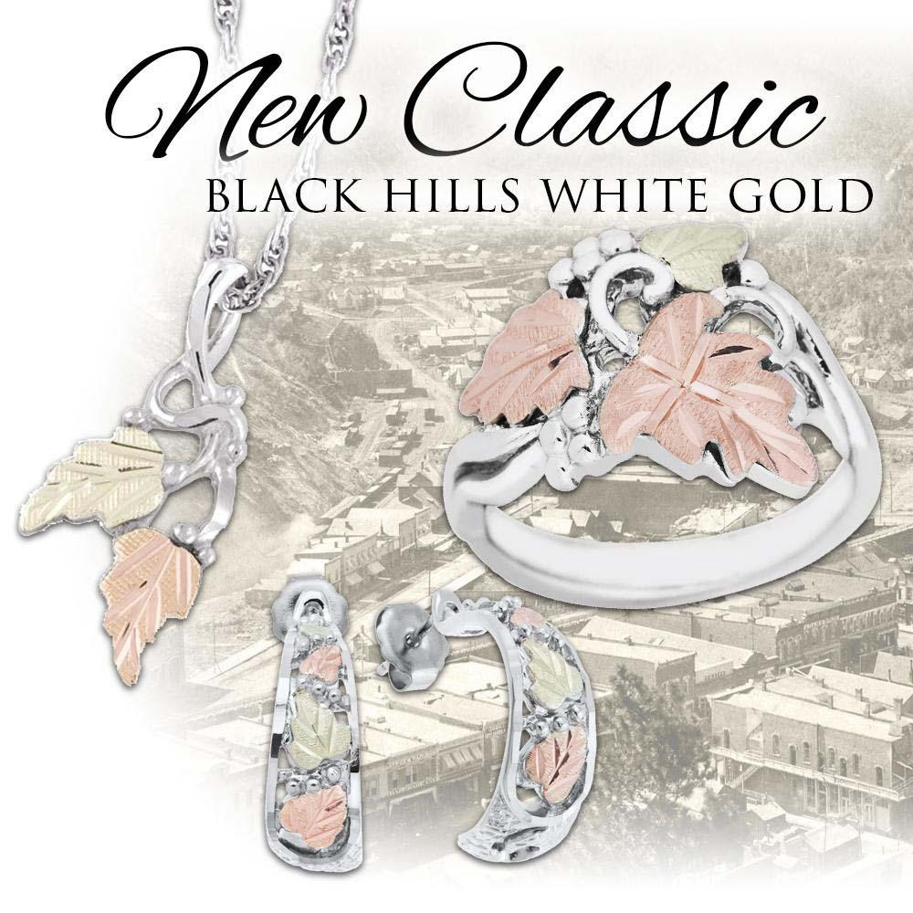 Black Hills Gold and White Gold