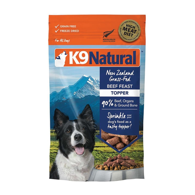 K9 Natural - Beef Feast Topper - 5oz