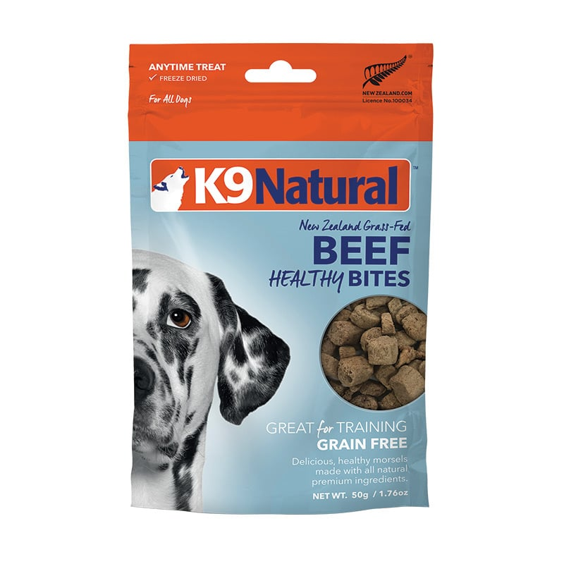 K9 Natural - Beef Healthy Bites Treats - Freeze Dried