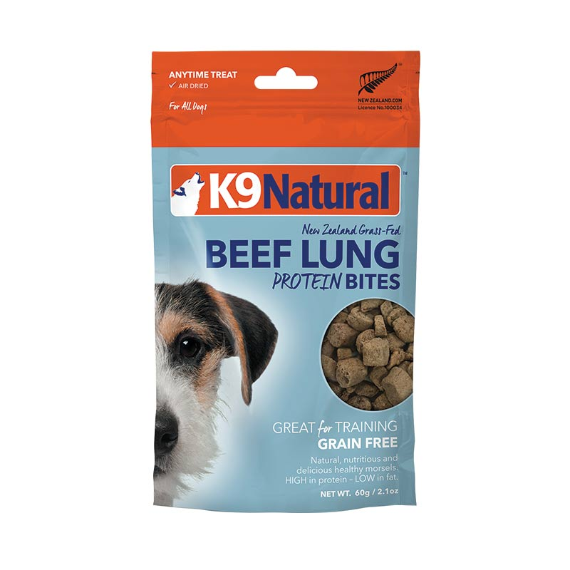 K9 Natural - Beef - Lung Protein Bites - Air Dried - 50 g