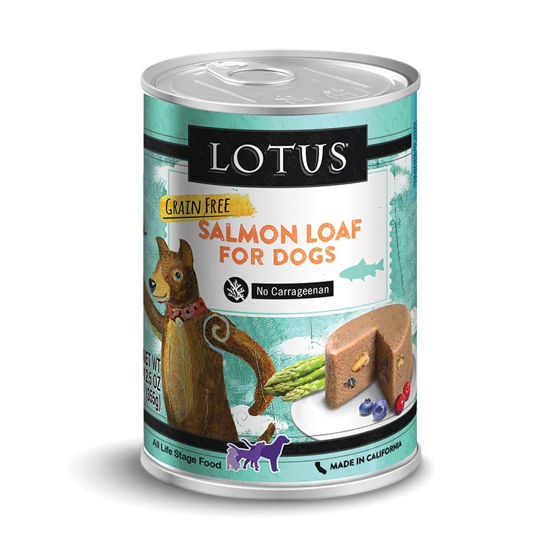 Lotus - Grain-Free Salmon Loaf - 12oz
