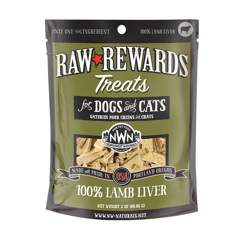 Northwest Naturals - Liver Treats - Lamb Liver - 3oz