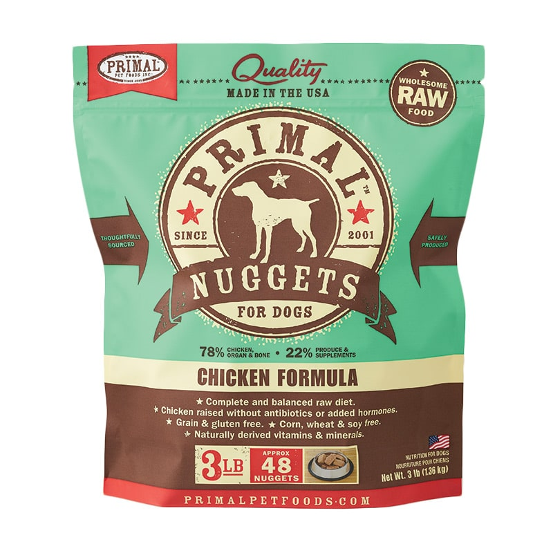 Primal - Canine - Nuggets - Chicken