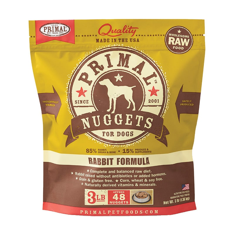 Primal - Canine - Nuggets - Rabbit