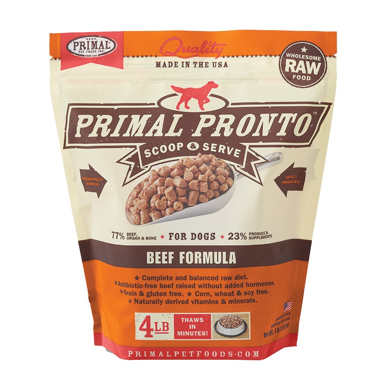 Primal - Canine - Pronto - Beef