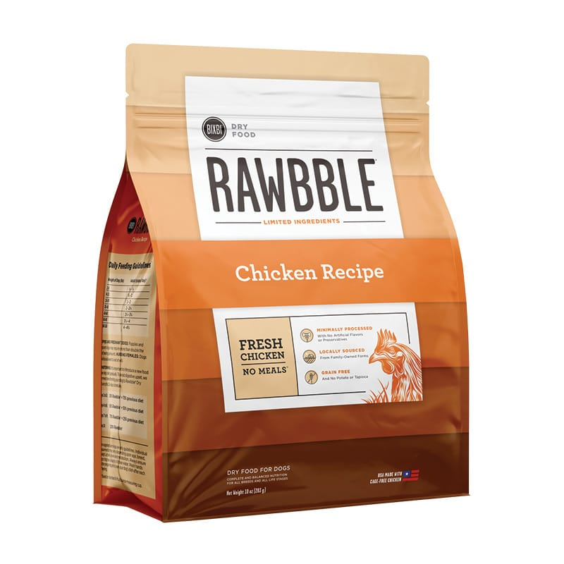 BIXBI - Dry - Rawbble - Chicken