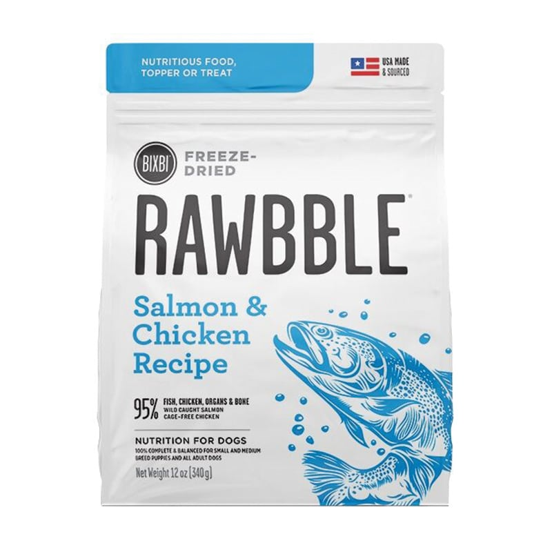 BIXBI - Freeze Dried - Rawbble - Salmon & Chicken