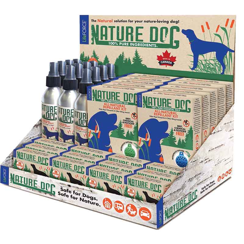 LifeFORCE - Nature Dog POP Display