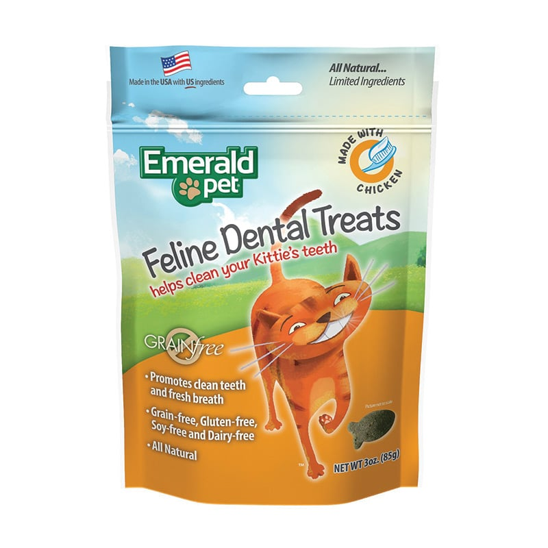 Emerald Pet - Cat - Dental Treat - Chicken