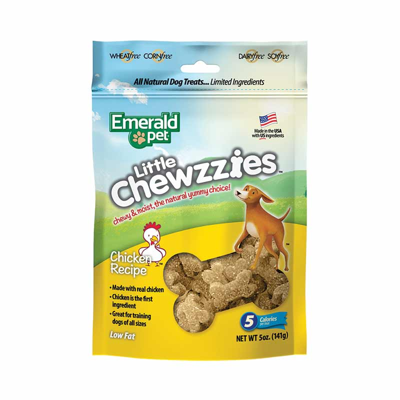 Emerald Pet - Little Chewzzies Chicken Dog Treats