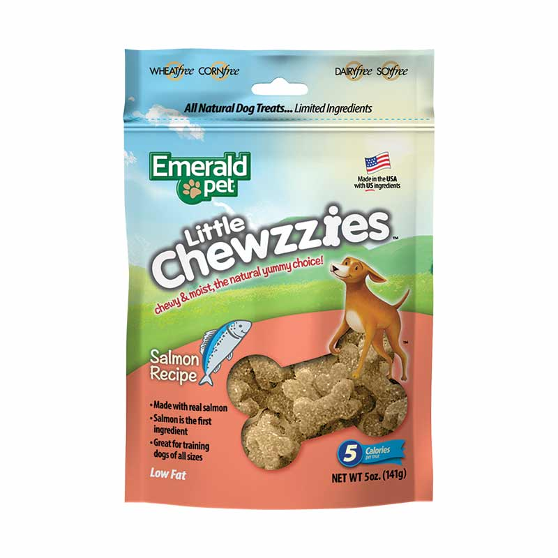 Emerald Pet - Little Chewzzies Salmon Dog Treats