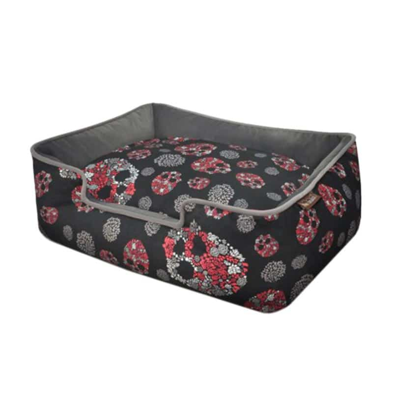PLAY - Lounge Bed -Skulls and Roses