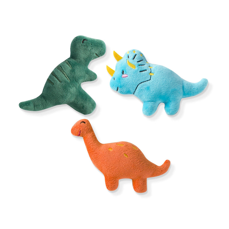 Fringe Studio - Dinos 3pcs Small Dog Toy Set