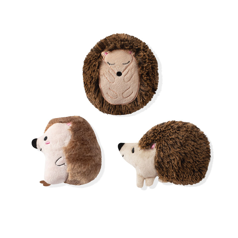 Fringe Studio - Hedgehogs - 3PCS Small Dog Toy Set