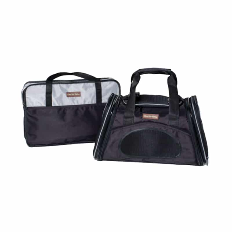 ONE FOR PETS - The One Bag Expandable Carrier - Black