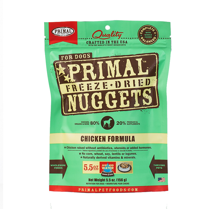 Primal - Canine - Freeze-Dried - Nuggets - Chicken