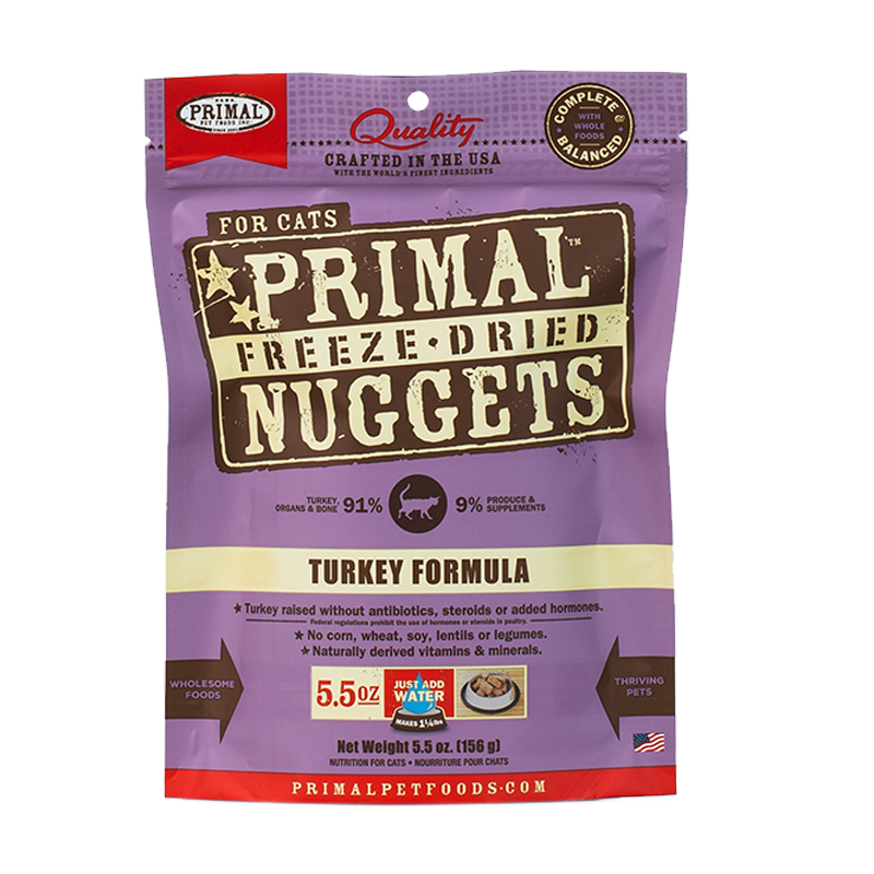 Primal - Feline - Turkey Freeze-Dried Formula