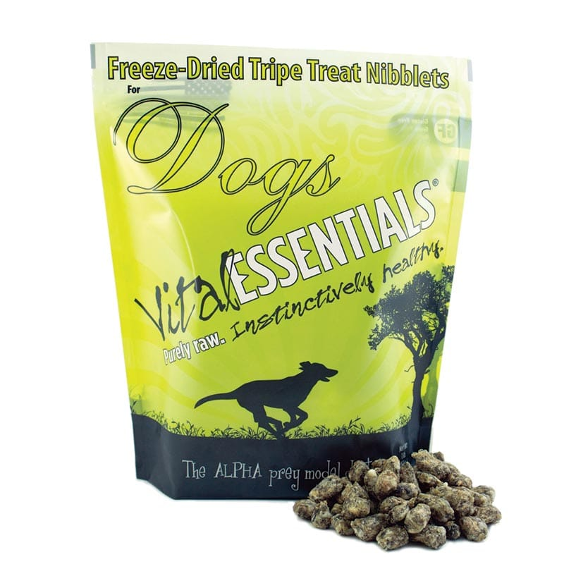 Vital Essentials - Dog GF Freeze Dried Food - Beef Tripe Nibblets - 1 lb