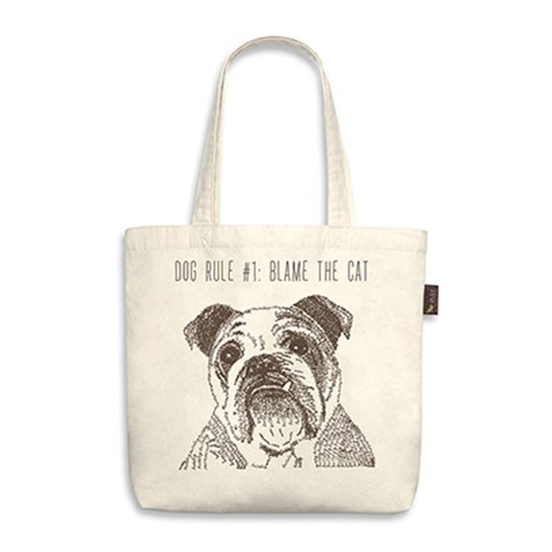 PLAY- Best In Show - Tote Bag - Bulldog