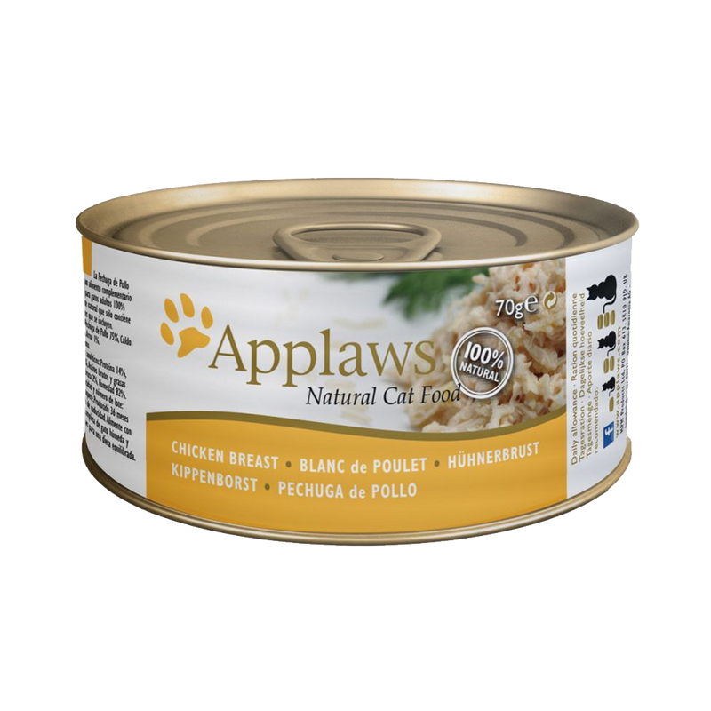 Applaws - Can - Chicken & Rice - Case/24 70g