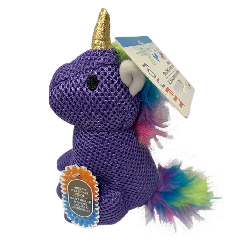 Foufou Brands - Rainbow Bright Spiker - Purple Unicorn