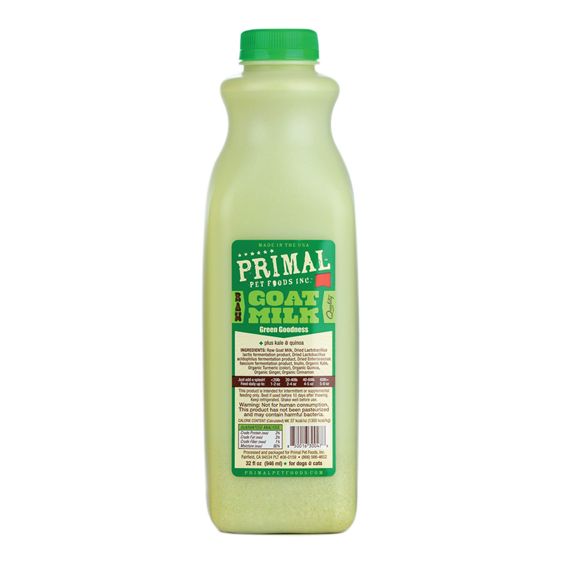 Primal - Raw Goats Milk - Green Goodness