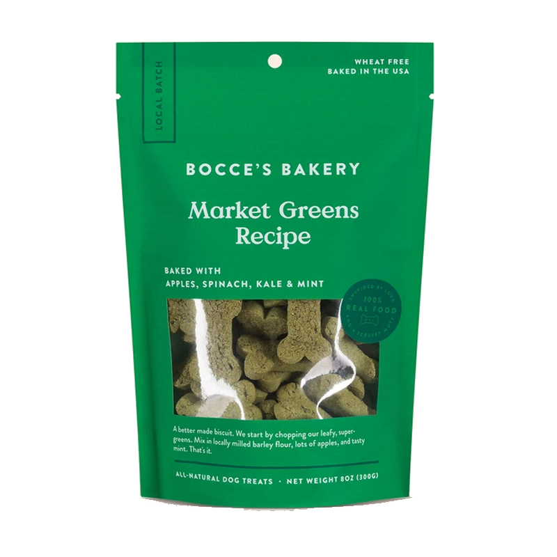 Bocce's Bakery - Market Greens Biscuits - 8oz