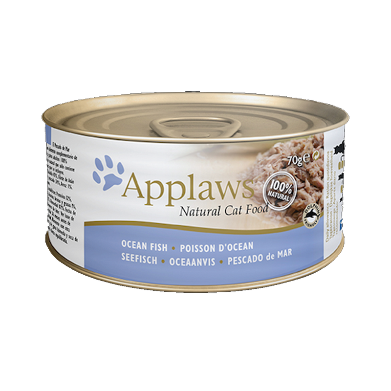 Applaws - Can - Ocean Fish - Case/24 70g