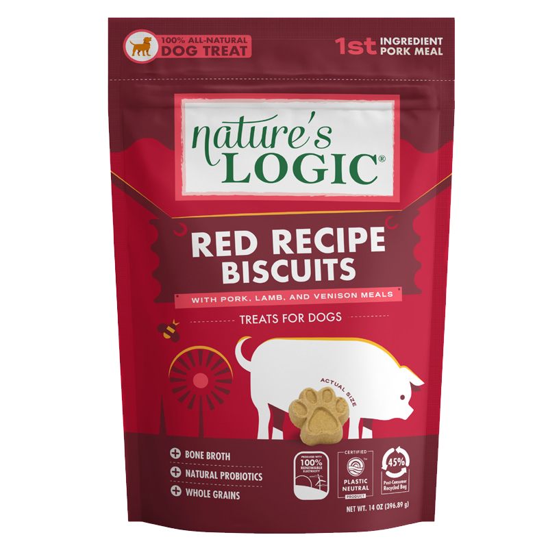 Nature's Logic - Biscuit Treats - Canine Red Blend