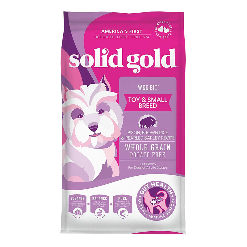 Solid Gold - Wee Bit Toy & Small Breed Bison 4lb