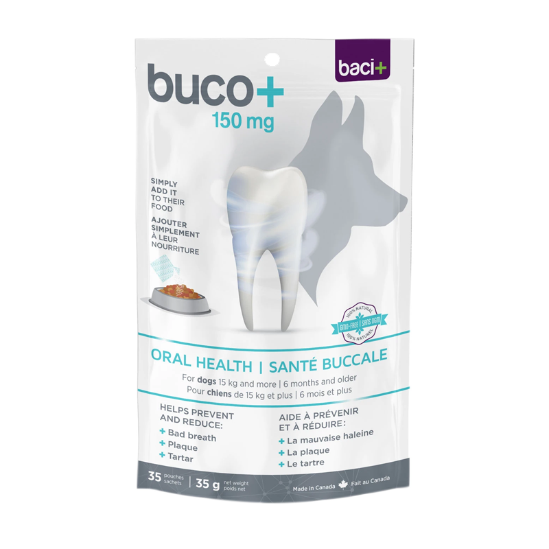 Baci+ - Buco+ 150mg (dental care for dogs 15kg+)