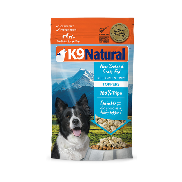 K9 Natural - Beef Green Tripe Topper - 2.6oz