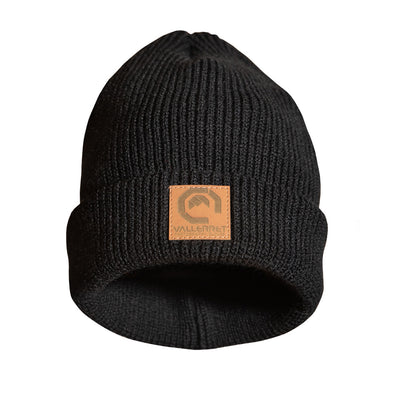 Vallerret Beanie in Black
