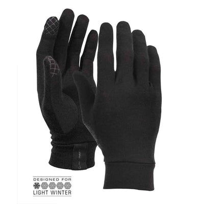 Merino Liner Touch Gloves Vallerret