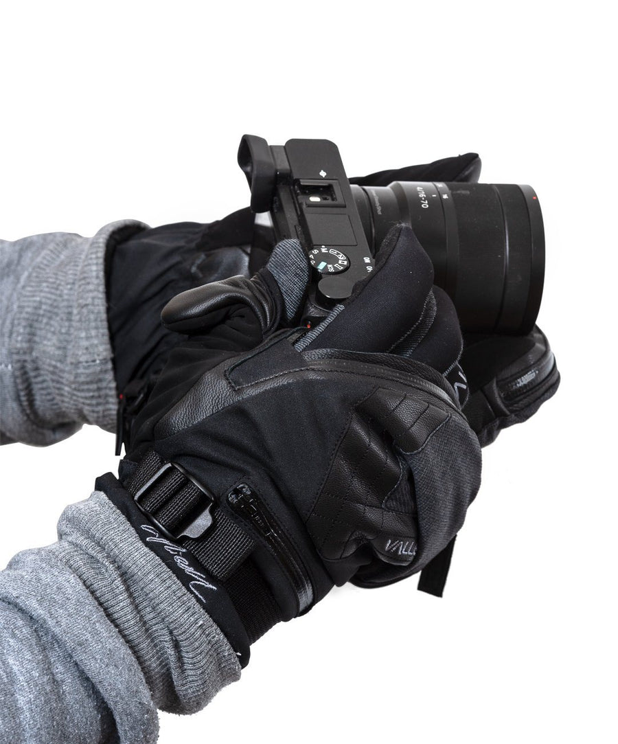 Skadi Zipper Mitt Photography Glove