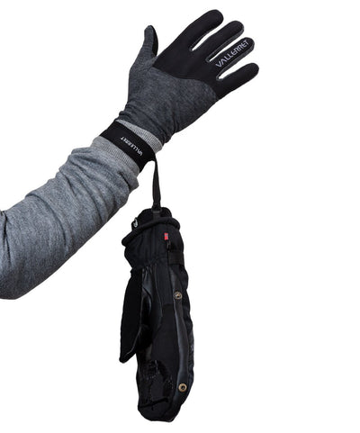 Vallerret Photography Glove | Skadi Zipper Mitt (Black) by Vallerret Photography Gloves