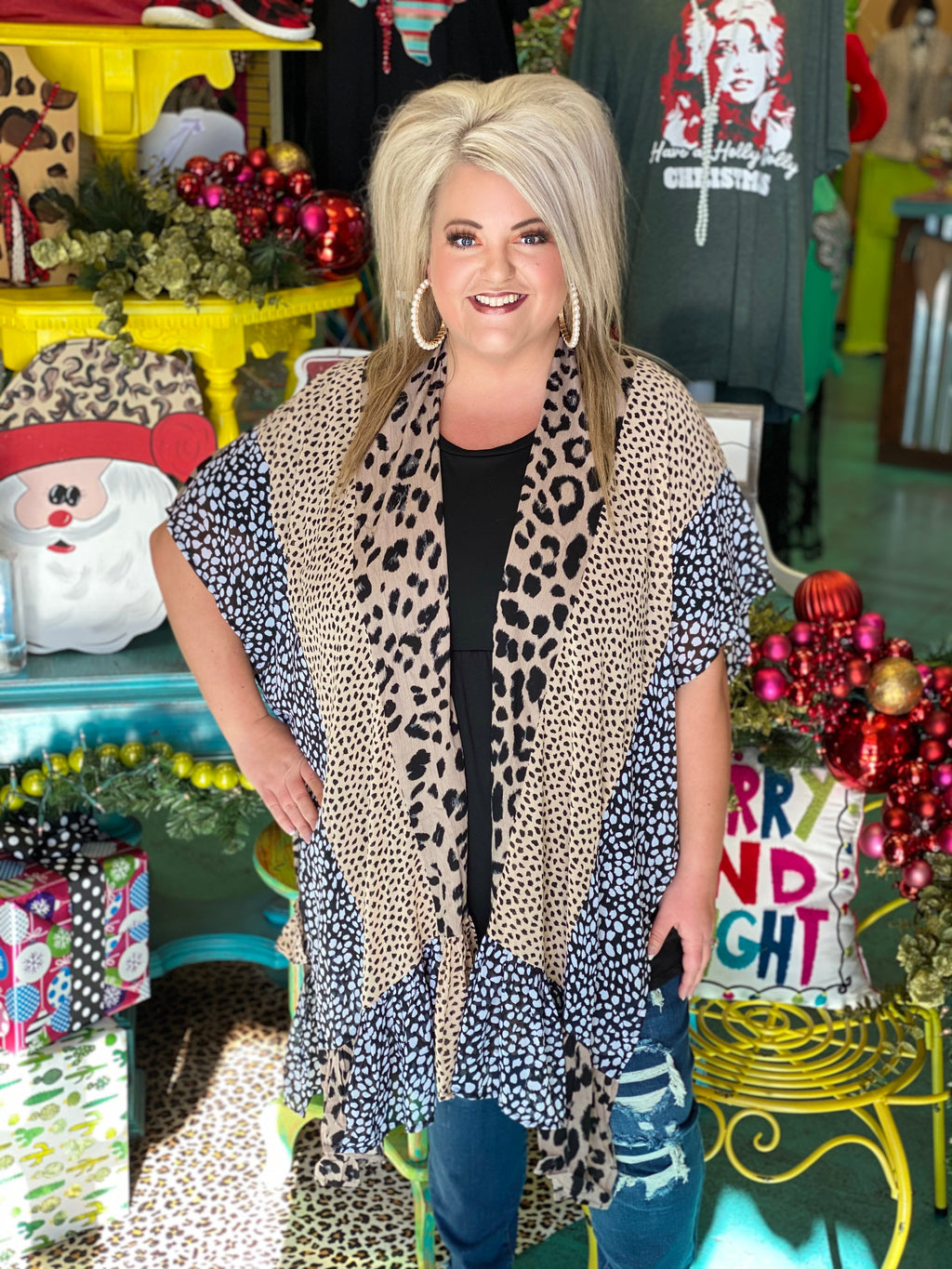 Wild Over You Animal Print Kimono