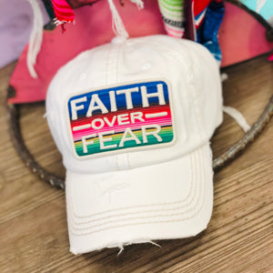 Faith Over Fear Cap {3 DIFFERENT COLORS}