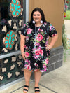 Rose To The Top Floral Dress