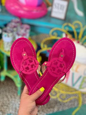 *Clearance*Goody Two Shoes by Sandals - FUCHSIA