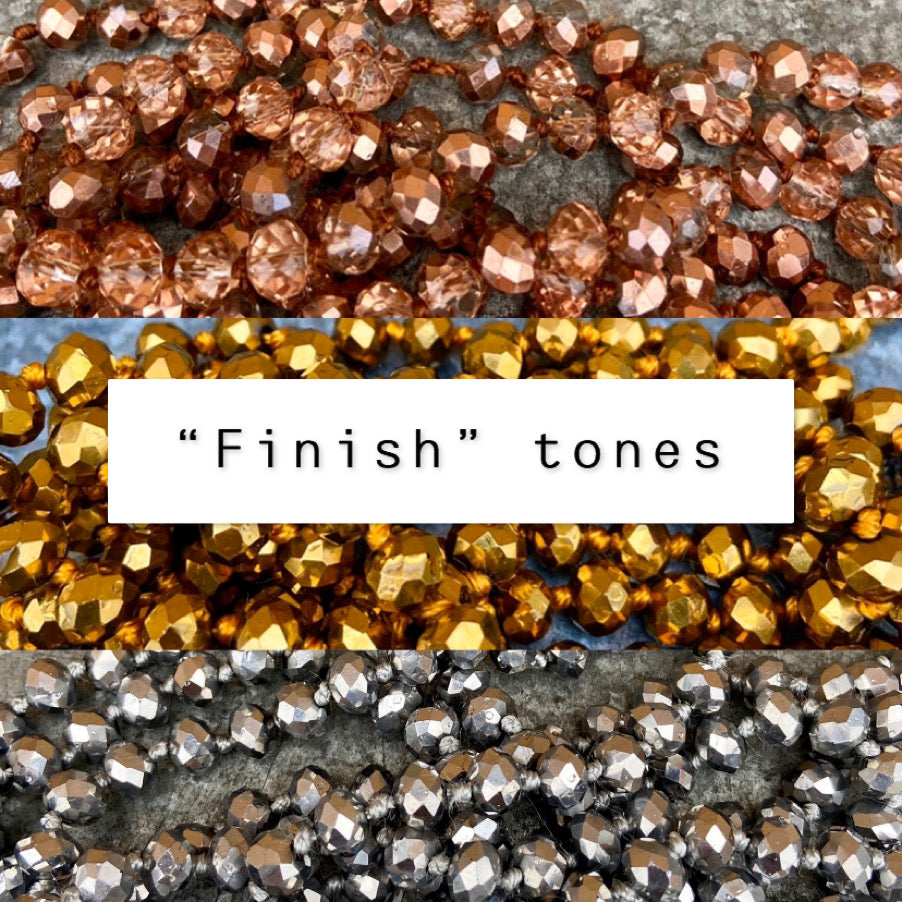 Baylee Beads - Finish Tones
