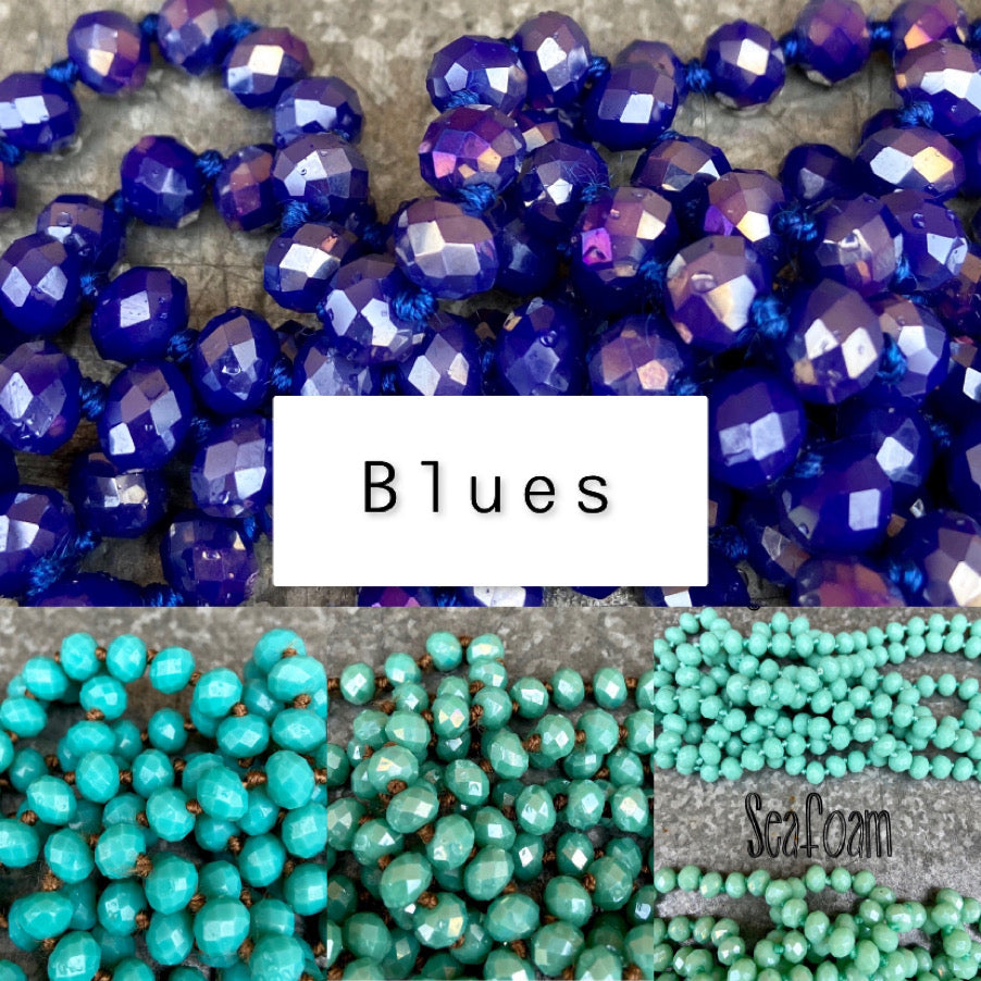 Baylee Beads - Blues/Greens