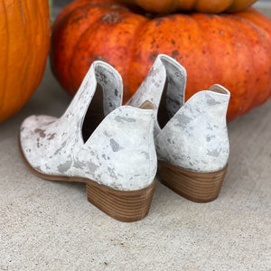 The Wayland White Booties