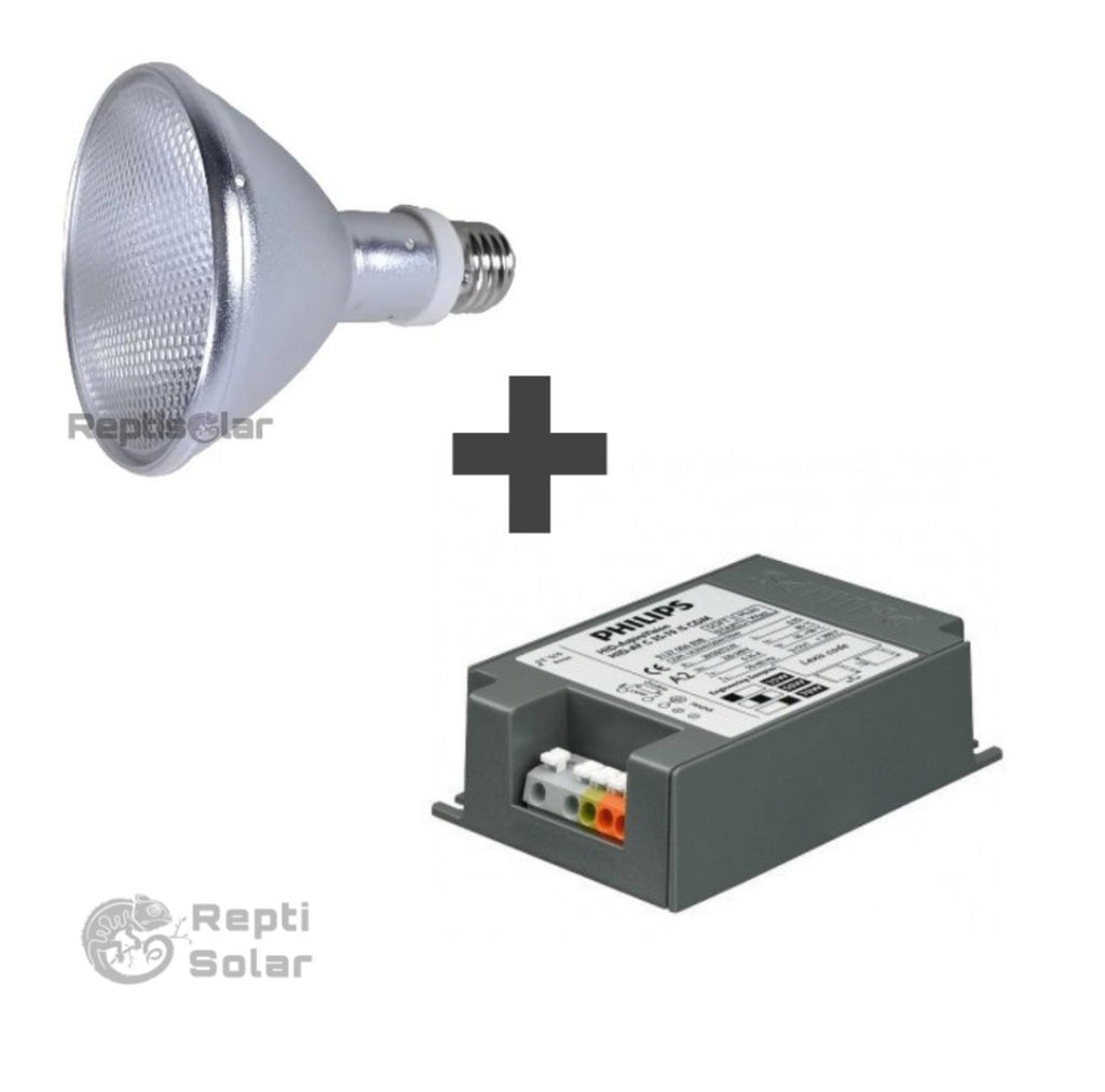 Balastro + hid outlet