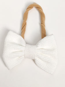 Corduroy Joy Bow