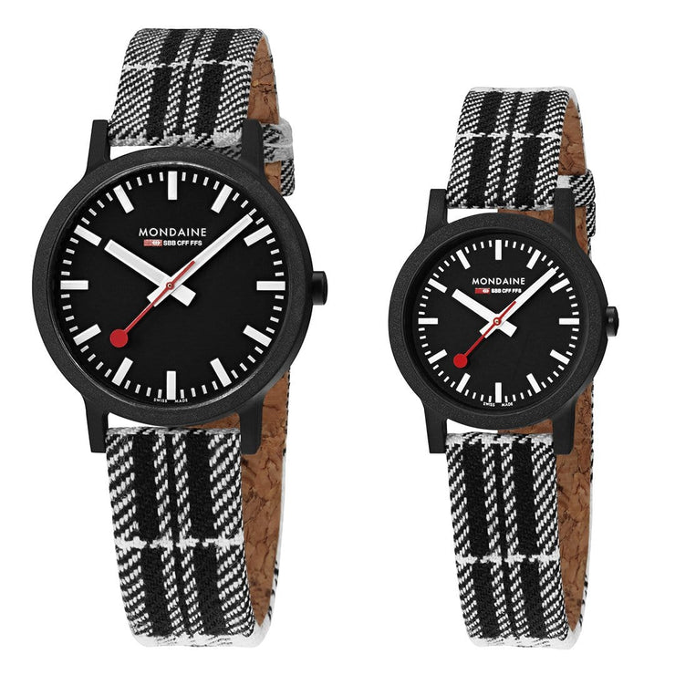 essence set, 32 and 41 mm, his and her sustainable watches