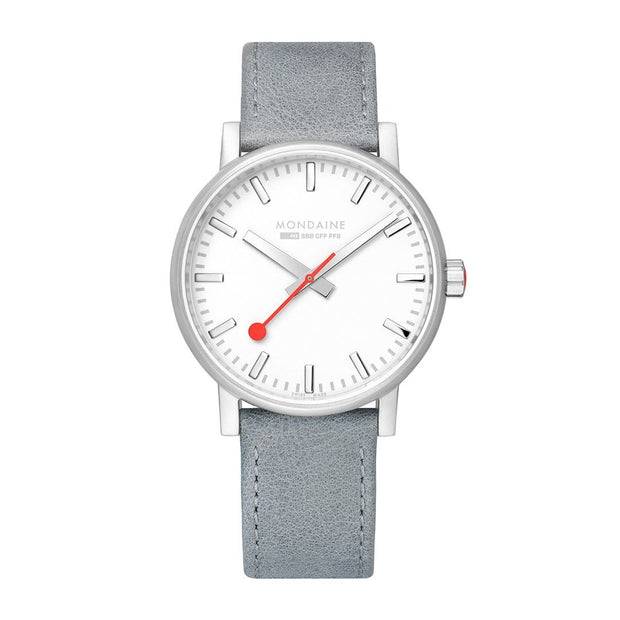 evo2, 40mm, casual leather watch, MSE.40110.LH
