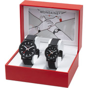 Essence set, 32 and 41 mm, his and her vegan watches, MS1.41120.SET,1