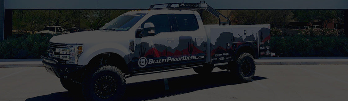At Bullet Proof Diesel, there is an unrelenting focus and drive toward achieving technological excellence in everything we do, from the development of our line of fantastic, leading-edge Bullet Proof Diesel products (check out our more than one dozen U.S. patents) to our top-line service that aims for nothing less than complete customer satisfaction. While the PowerStroke engine line is our specialty, you will find upgraded egr cooler coverage for most Cummins, Paccar, Duramax, EcoDiesel and International engine platforms.