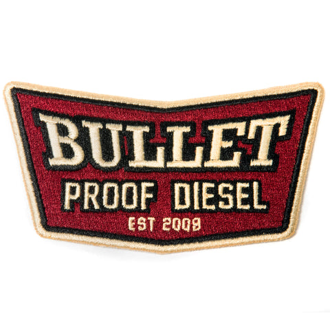Bullet Proof Diesel Chevron Patch